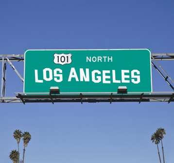 101 Los Angeles Freeway Sign