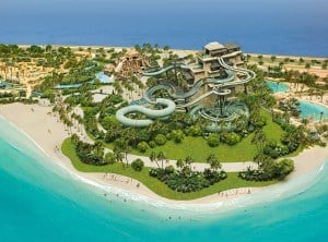 Aquaventure Waterpark's Thrilling 40 metre Tower of Poseidon
