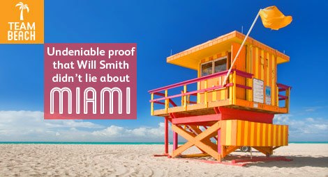 Will Smith welcome to Miami