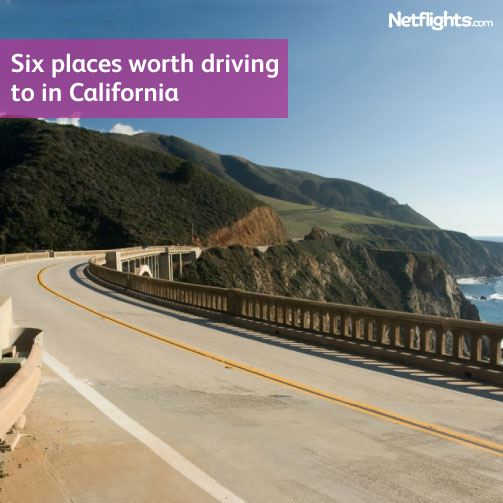 Six places to drive to in California