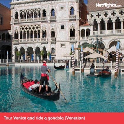 The Venetian in Las Vegas with Netflights.com