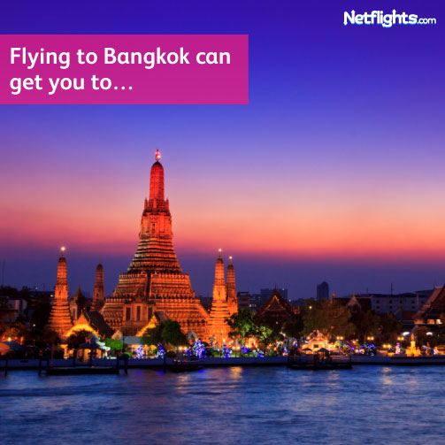 Flying in to Bangkok can get you...