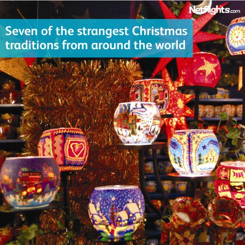 Seven of the strangest Christmas traditions from around the world