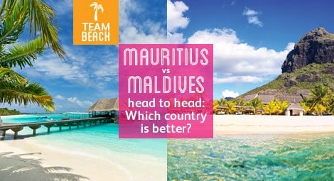 Mauritius vs the Maldives