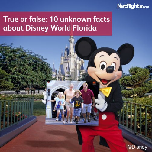 True or false: 10 unknown facts about Disney World Florida