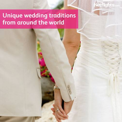 Unique wedding traditions from around the world