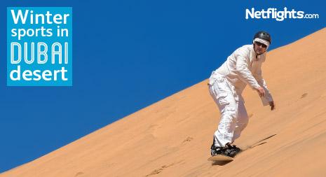 Winter sports in Dubai