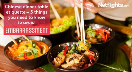 Chinese dinner etiquette