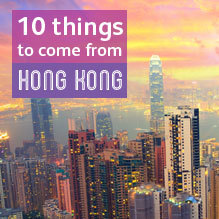 Best things to come out of Hong Kong