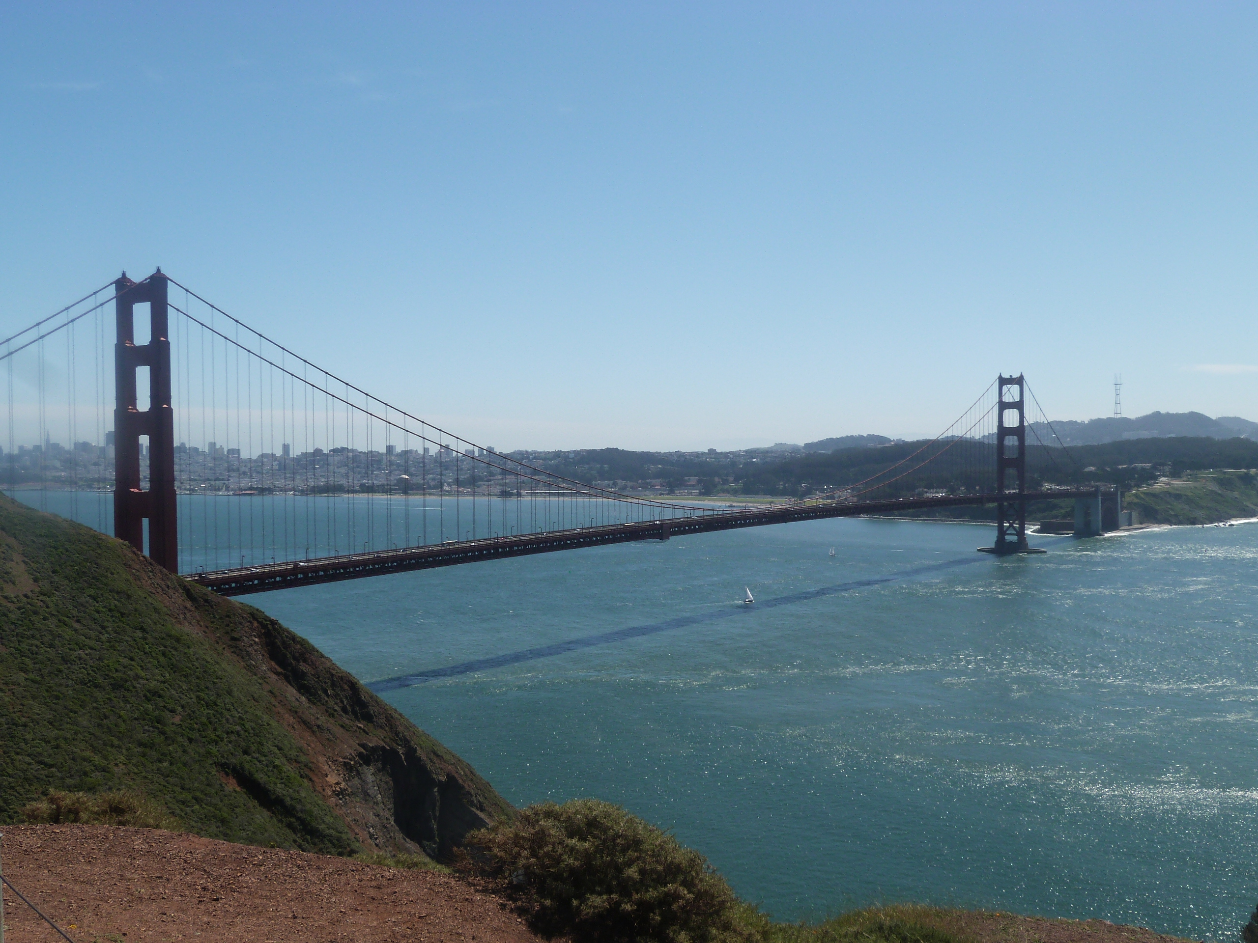 Marin Headlands - Golden Gate Bridge, San Francisco