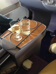 Business class from London to Bangkok with Thai Airways
