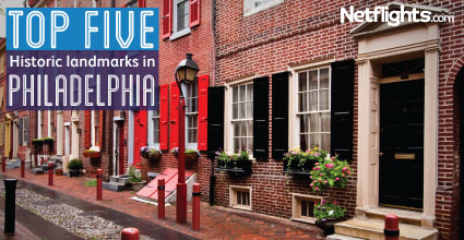 Top five historical landmarks in Philadelphia