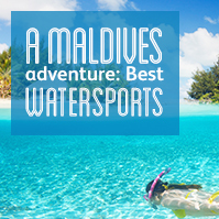 The best watersports in the Maldives