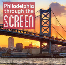 Philadelphia throught the screen