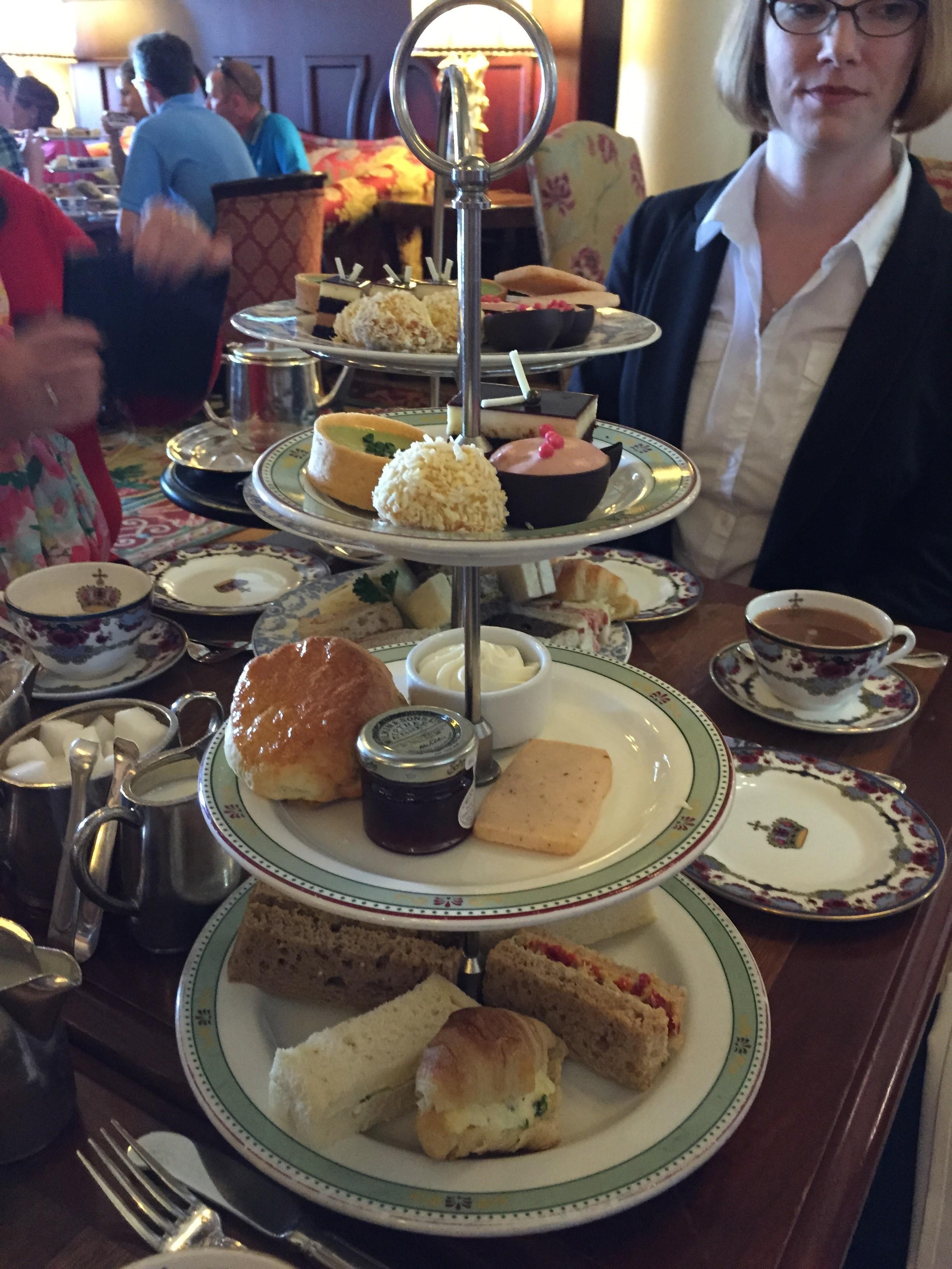 High Tea at The Fairmont Empress Hotel