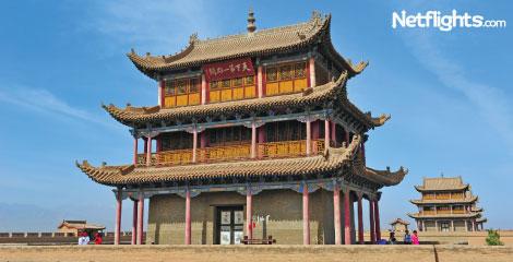 Gate tower, Jiayuguan