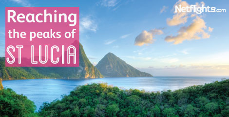 Reaching the peaks of St Lucia