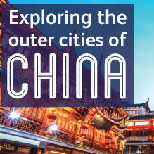Exploring the outer cities of China