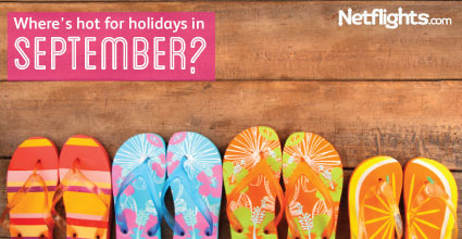 Where is hot in September for holidays?
