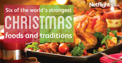 Six of the world's strangest Christmas foods and traditions