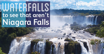 Waterfalls to see that aren't Niagara Falls