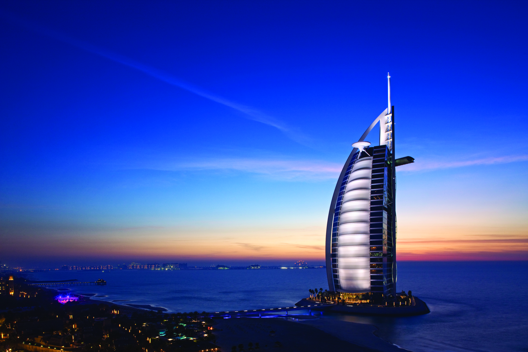 The coolest and most unusual buildings in dubai Burj al arab architecture