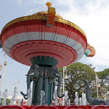 Little India Fountain