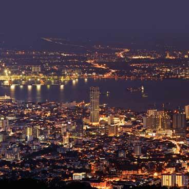Penang cityscape