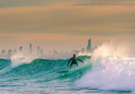 Surfing Gold Coast