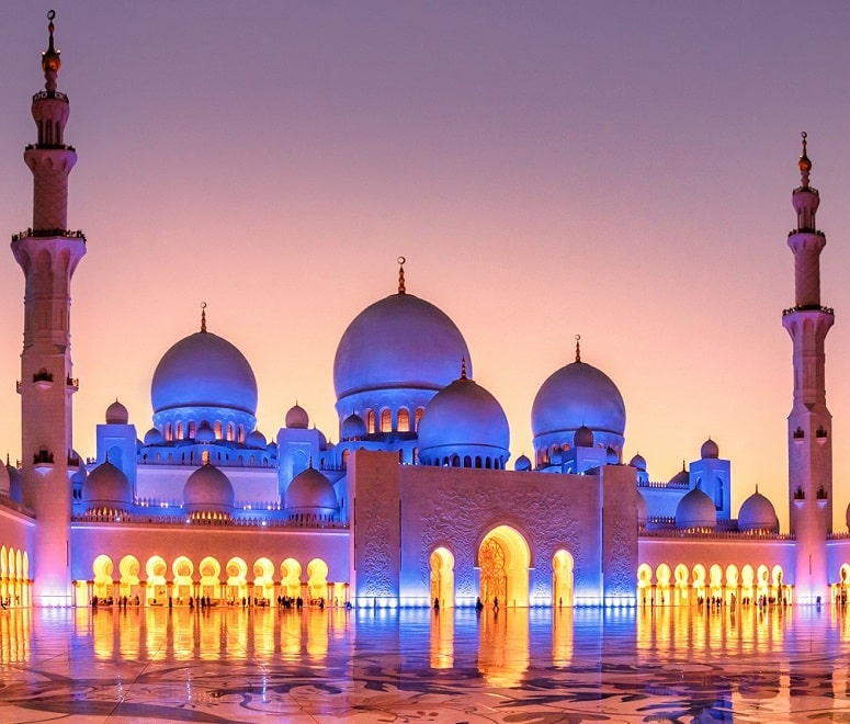 sheikh zayed mosque abu dhai