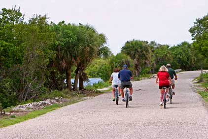 Bicycling in Sanibel Florida