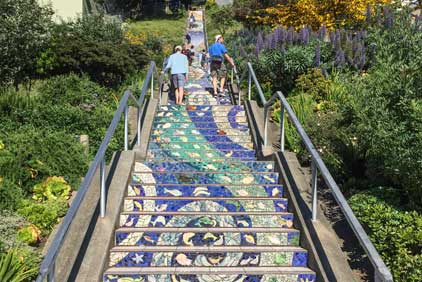 Moraga steps San Francisco