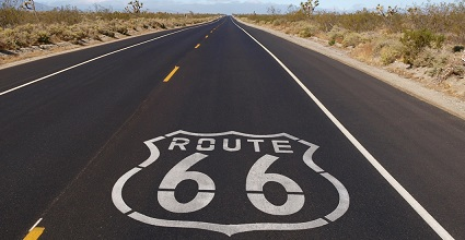 USA road trips route 66