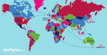 Gap Year Map