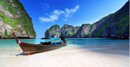 Maya bay Thailand featured