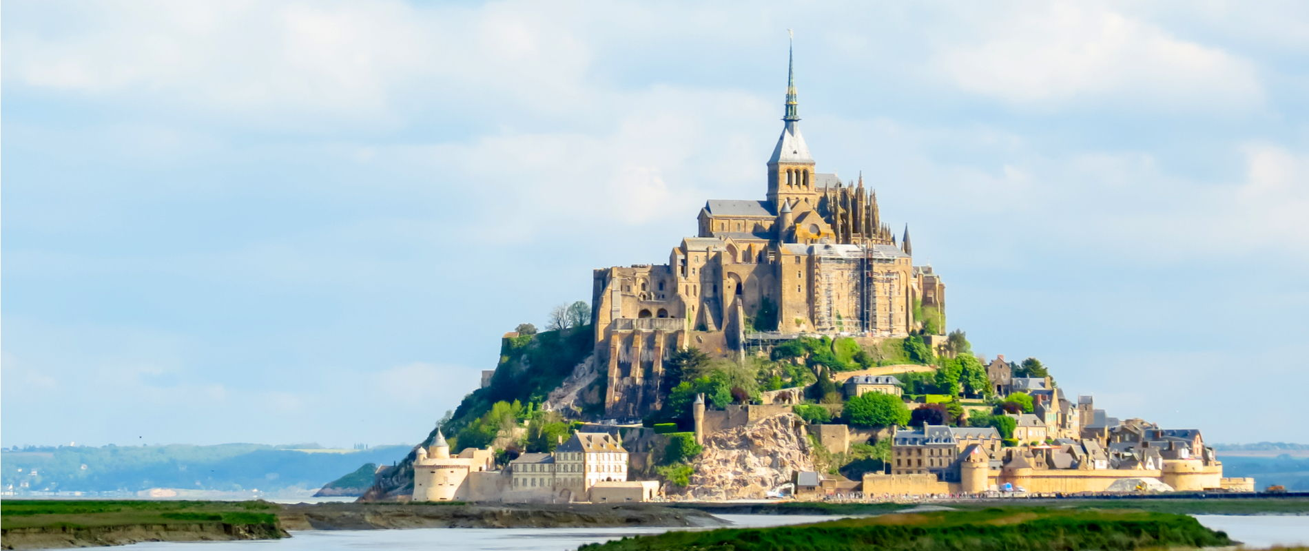 Panoramic View of Le Mont