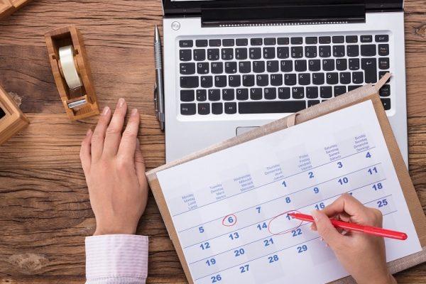 calendar holiday plan