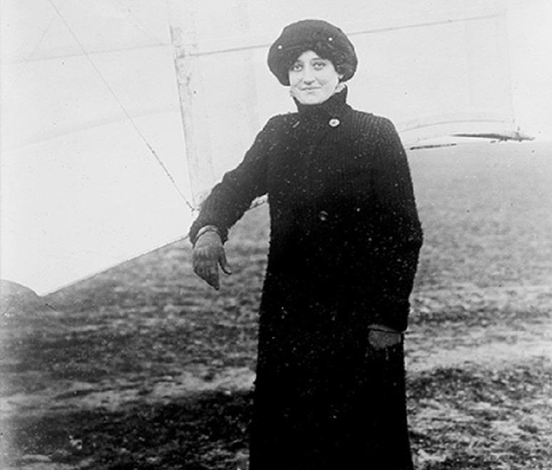 Raymonde de Laroche - International Women's Day in aviation