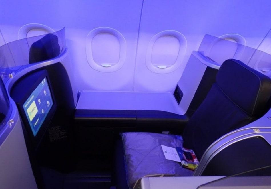 JetBlue Mint business class