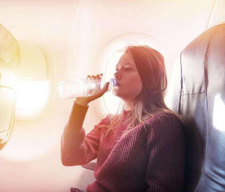 plane water bottle