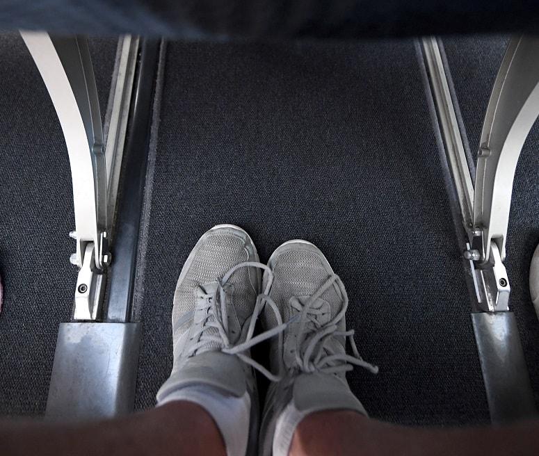 walking on plane