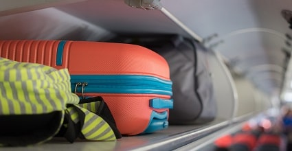 hand luggage feature