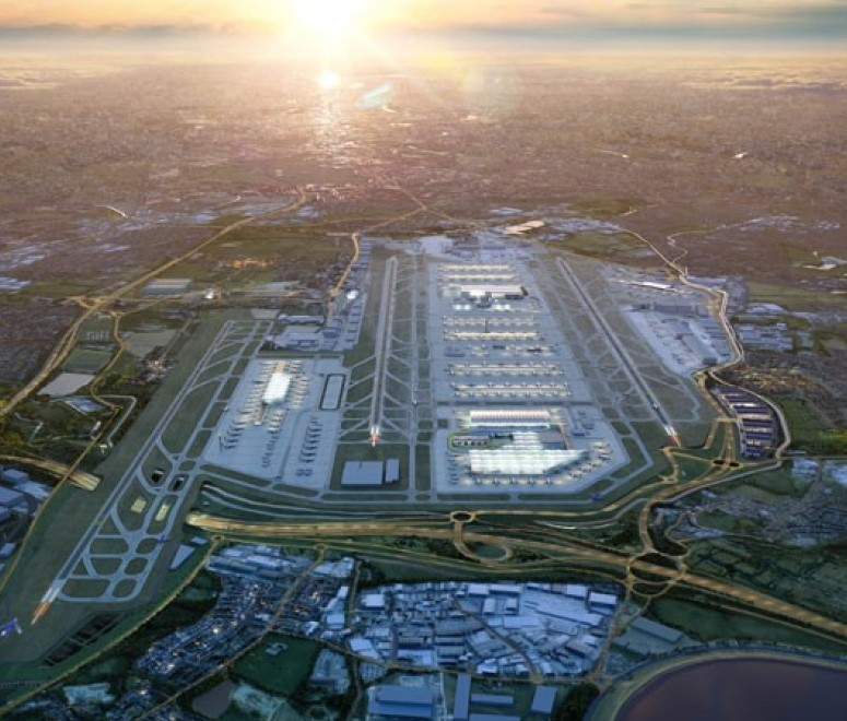 London Heathrow artist impression