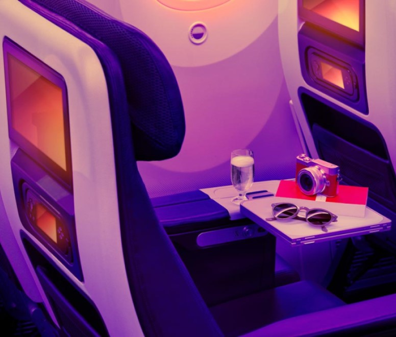 Virgin Atlantic's Economy Light seat