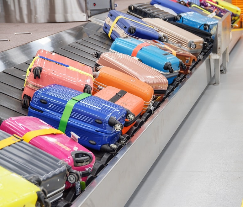 colourful suitcase hassle-free travel