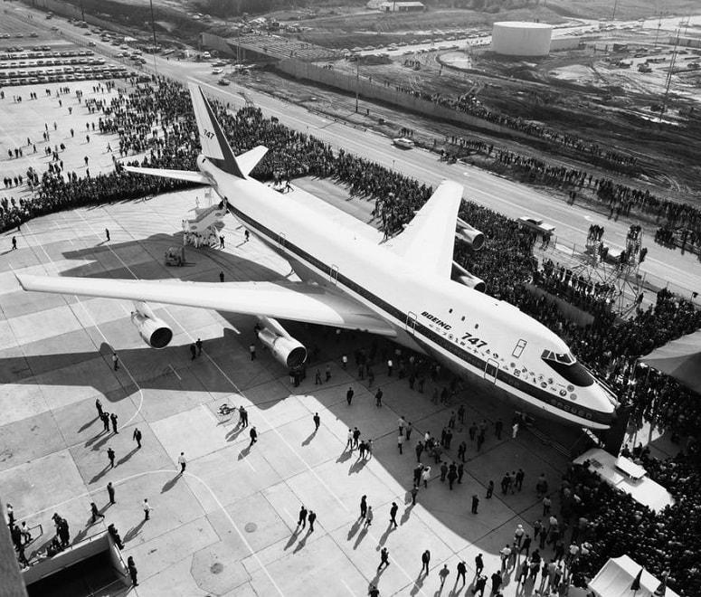B747 prototype