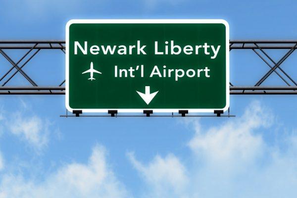 Newark Airport sign
