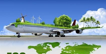 Carbon footprint travel