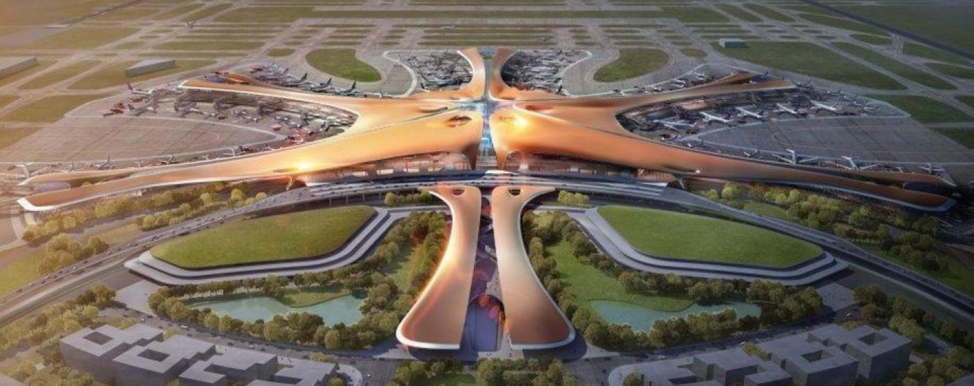 Beijing's new mega airport opens