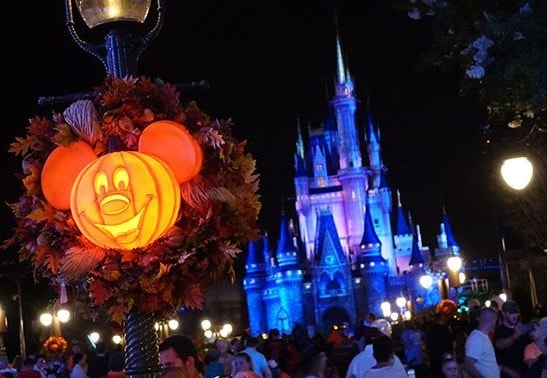 Disney Halloween Magic Kingdom